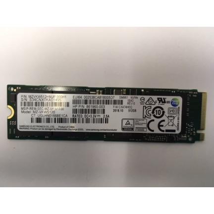 SM961 512Gb M.2 NVME