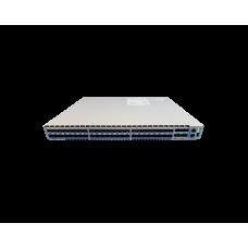 Arista 7050, 48xRJ45(1/10GBASE-T) & 4xQSFP+ switch, front-to-rear airflow, 2x AC power supplies.