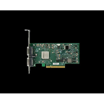 MHQH29-XTC Dual Port QDR 40Gbps InfiniBand HCA