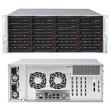 Supermicro 4U 24 Bay Server, 6Gb Expander, Redundant 900W PSU