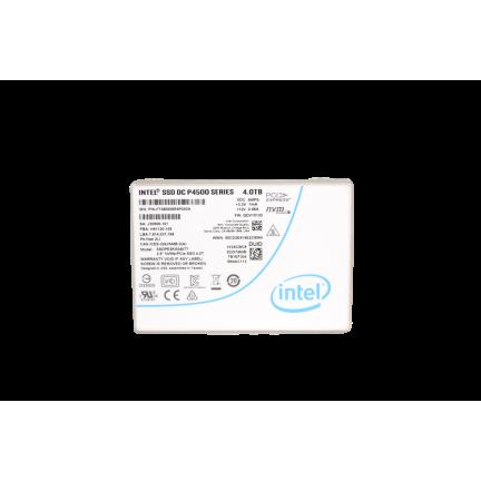 INTEL SSD DC P4500 SERIES NVME (4.0TB, 2.5in PCIe 3.1 x4, 3D1, TLC)