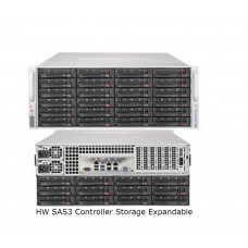 4U 72 Bay Storage Server, 16 Core, 128Gb