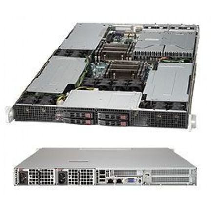 SuperServer SYS-1027GR-TRF (Inc X9DRG-HF) 3 x GPU 1U Server