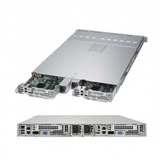 Supermicro 1U TwinPro - 2 systems (nodes) in a 1U form factor. 2 PSU, 2 nodes (X10DRT-P), 4x 2.5