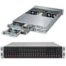Supermicro SuperServer SYS-2028TP-HC0TR 2U Quad Node X10DRT-P (SAS3008 / X540) Server