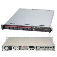 1U Low Power Server barebones system