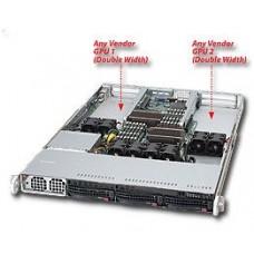 Supermicro 6016GT-TF 1U Barebones Server