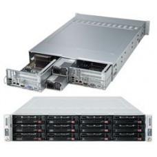 Supermicro Fat Twin, Dual E5 X9DRT-HF Node, Dual 1280w PSU, 12 x 3.5