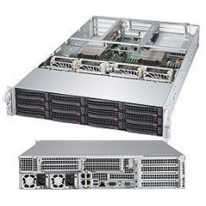 Supermicro Ultra 6028U-TR4T+, 2.4Ghz, 64Gb, HBA