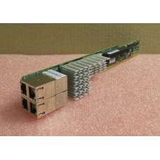 1U Ultra Riser based on Intel X540 controller with 4 10Gbase-T ports and 1 internal PCI-E x8 3.0 slot
